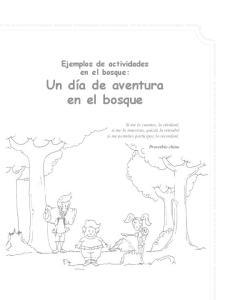 Ejemplos de actividades en el bosque: Un día de aventura en el bosque