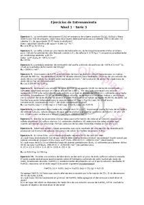 Ejercicios de Entrenamiento Nivel 1 - Serie 3