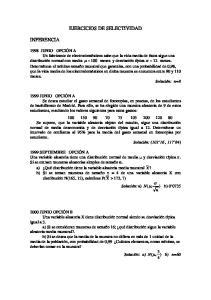 EJERCICIOS DE SELECTIVIDAD