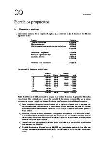 Ejercicios propuestos