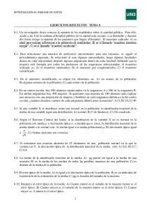 EJERCICIOS RESUELTOS TEMA 8