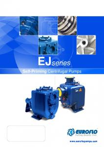 EJseries. Self-Priming Centrifugal Pumps