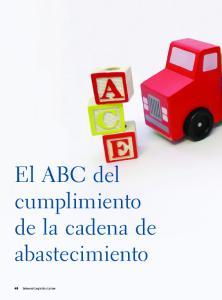 El ABC del cumplimiento de la cadena de abastecimiento
