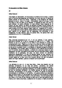 El abecedario de Gilles Deleuze. Gilles Deleuze: