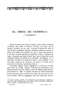 EL ARBOL DE GUERNICA. 1