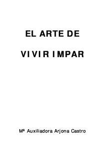 EL ARTE DE VIVIR IMPAR