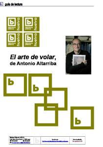 El arte de volar, de Antonio Altarriba