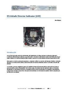 El Attitude Director Indicator (ADI)