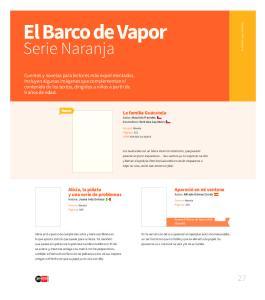 El Barco de Vapor. Serie Naranja
