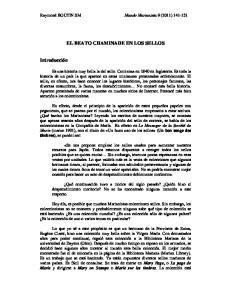 EL BEATO CHAMINADE EN LOS SELLOS
