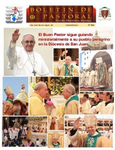 El Buen Pastor sigue guiando ministerialmente a su pueblo peregrino en la Diócesis de San Juan