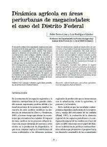 el caso del Distrito Federal