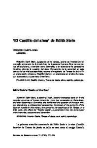El Castillo del alma de Edith Stein