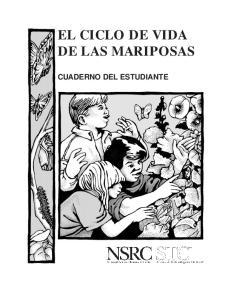 EL CICLO DE VIDA DE LAS MARIPOSAS CUADERNO DEL ESTUDIANTE