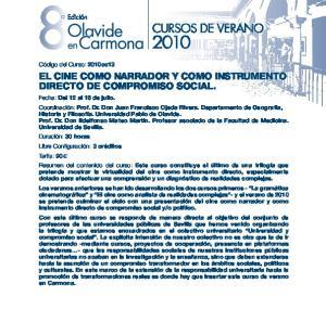 EL CINE COMO NARRADOR Y COMO INSTRUMENTO DIRECTO DE COMPROMISO SOCIAL