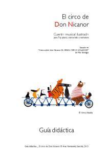 El circo de Don Nicanor