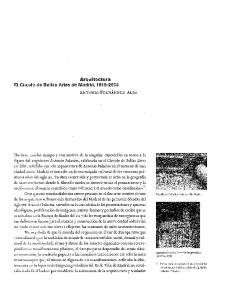 El Círculo. de Bellas Artes de Madrid,