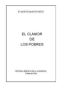 EL CLAMOR DE LOS POBRES