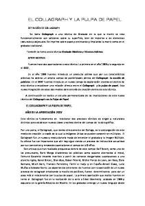 EL COLLAGRAPH Y LA PULPA DE PAPEL