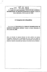 El Congreso de la Republica