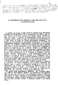 EL CONOCIMIENTO DEL DERECHO A FINES DEL SIGLO XVIII Y PRINCIPIOS DEL XIX