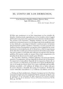 EL COSTO DE LOS DERECHOS,