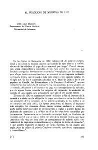 EL CUADERNO DE MONEDAS DE 1377