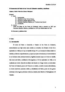 El documento del Pacto de los Toros de Guisando: estudios y estudiosos
