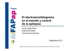 El electroencefalograma en el estudio y control de la epilepsia