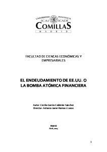 EL ENDEUDAMIENTO DE EE.UU. O LA BOMBA ATÓMICA FINANCIERA