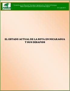 EL ESTADO ACTUAL DE LA SOYA EN NICARAGUA Y SUS DESAFIOS