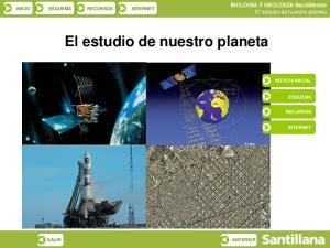 El estudio de nuestro planeta