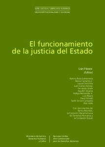 El funcionamiento de la justicia del Estado