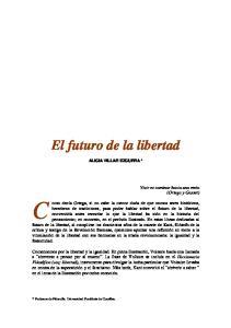 El futuro de la libertad