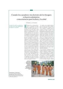 El futuro de los ecosistemas forestales