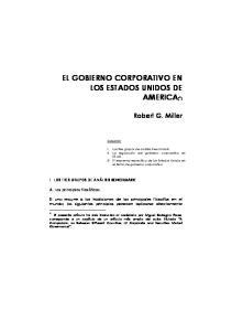 EL GOBIERNO CORPORATIVO EN LOS ESTADOS UNIDOS DE AMERICA( )