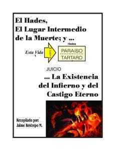 El Hades, El Lugar Intermedio de la Muerte; y