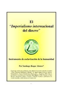 El Imperialismo internacional del dinero