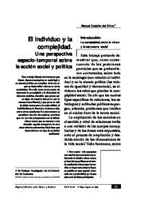El individuo y la complejidad