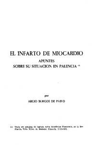 EL INFARTO DE MIOCARDIO