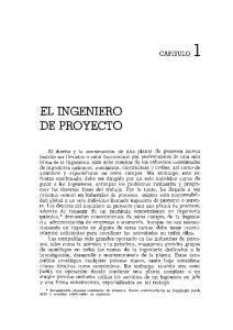 EL INGENIERO DE PROYECTO