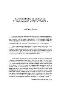 EL INVENTARIO DE BIENES DE