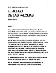 EL JUEGO DE LAS PALOMAS