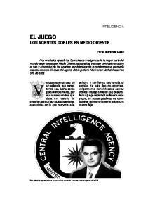 EL JUEGO LOS AGENTES DOBLES EN MEDIO ORIENTE