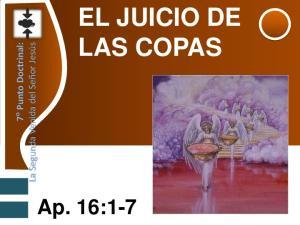 EL JUICIO DE LAS COPAS