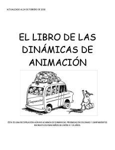 EL LIBRO DE LAS DINÁMICAS DE ANIMACIÓN