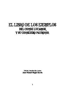 EL LIBRO DE LOS EJEMPLOS