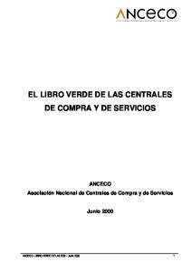 EL LIBRO VERDE DE LAS CENTRALES DE COMPRA Y DE SERVICIOS