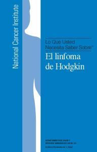 El linfoma de Hodgkin