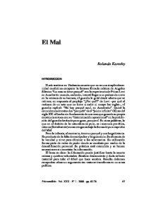 El Mal. Rolando Karothy